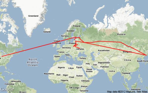 Travel Budget How 10k Has Taken Me 15 000 Miles
